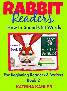 PHONICS: Rabbit Readers - Blending Sounds - Book 2: How to Sound Out a Word