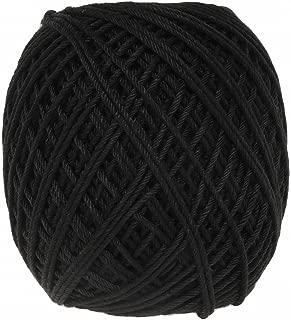オリムパス製絲 エミーグランデ ハウス レース糸 合細 col.H20 ブラック 系 25g 約74m 3玉セット