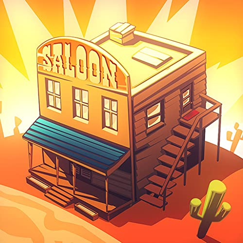 Wild West Saga: Idle Tycoon Tap Clicker Game