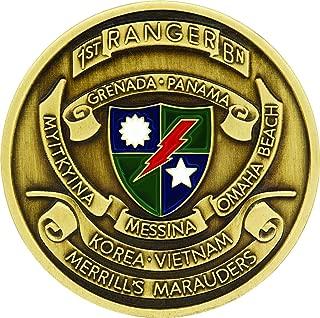 1st Ranger Battalion Challenge Coin