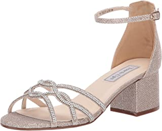 Touch Ups Women's Zoey Sandal, champagne, 6 M US