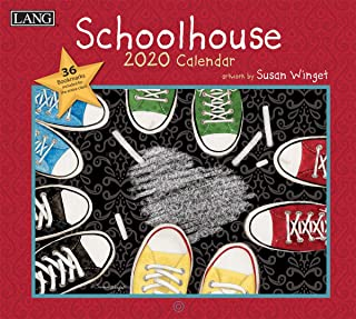 Lang Schoolhouse 2020 Wall Calendar (20991001940)