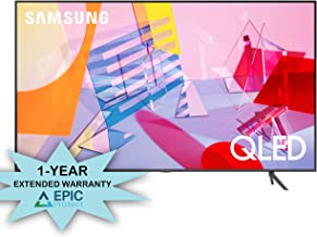 "Samsung QN65Q60TA 65"" Ultra High Definition 4K Quantum HDR Smart QLED TV with an Additional 1 Year Coverage by Epic Protec..."