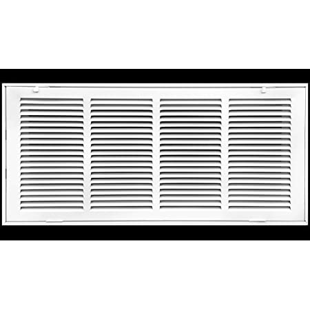"""24/"""" x 24/"""" Fixed Bar Steele Return Grille Non Filter"""
