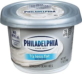 Philadelphia 1/3 Less Fat Cream Cheese Spread (12 oz Tub)