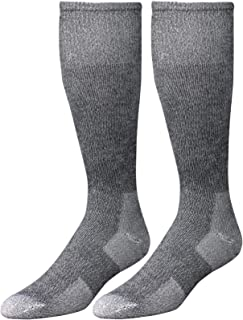 Wells Lamont Western Boot Socks, Gray, Shoe Sizes 10 to 12 1/2, 2 Pair Pack (9334LN)