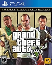 PS4 GRAND THEFT AUTO V PREMIUM ONLINE EDITION (ASIA)