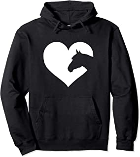 Horse lover Hoodie gift for teens & women who love horses