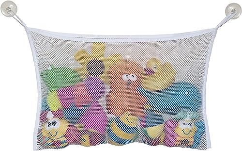 Jolly Jumper Bath Toy Bag, White