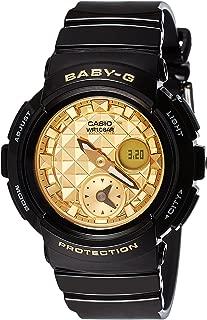 Casio Baby-G Female Black Analogue/Digital Round Watch BGA-195M-1A BGA-195M-1ADR