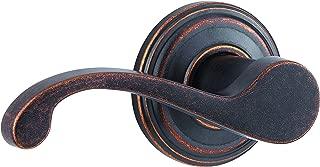 Kwikset Commonwealth Left-Handed Half-Dummy Lever in Rustic Bronze