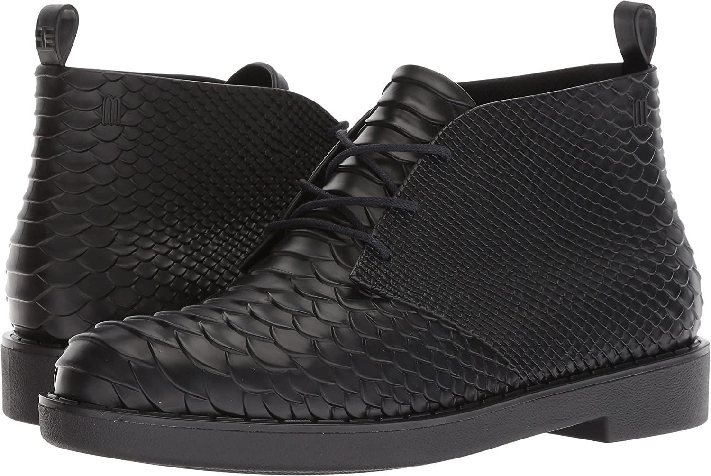 Melissa Desert Boot Python + Baja East, US Size 6 Black