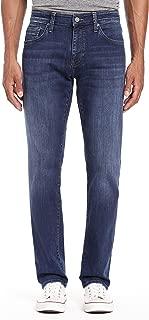 Mavi Mens Marcus Slim-Straight Leg Jeans, Dark Indigo Williamsburg 40 x 34