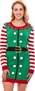 plus size elf sweater