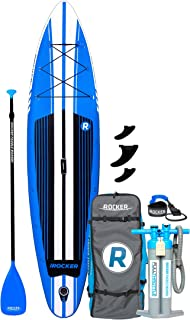 iROCKER Inflatable Sport Stand Up Paddle Board 11' Long 31