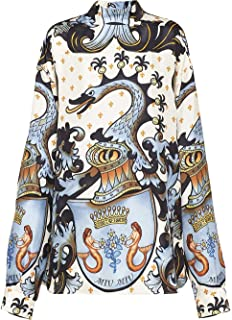 Miu Miu Luxury Fashion Womens MK13921U35F0424 Multicolor Blouse | Fall Winter 19