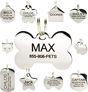 superhero pet id tags