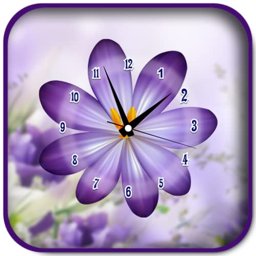 Flower Clock Live Wallpapers