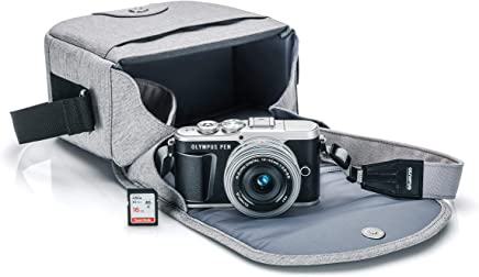 Olympus PEN E-PL9 Kit with 14-42mm EZ Lens, Camera Bag, and Memory Card (Onyx Black)
