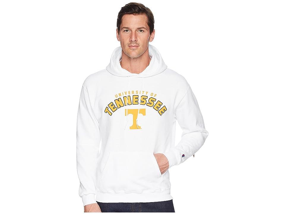 Champion College Tennessee Volunteers Eco(r) Powerblend(r) Hoodie 2 (White) Men