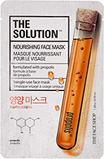 The Face Shop The Solution Nourishing Face Mask Serum, 20 gm