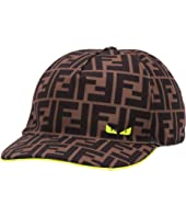 Fendi Kids - Fendi Logo Baseball Cap (Toddler/Little Kids/Big Kids)