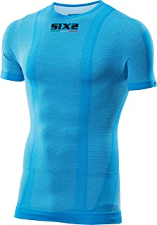 SiXS SIX2 T-Shirt MC Color Light Blue-M Unisex Adulto