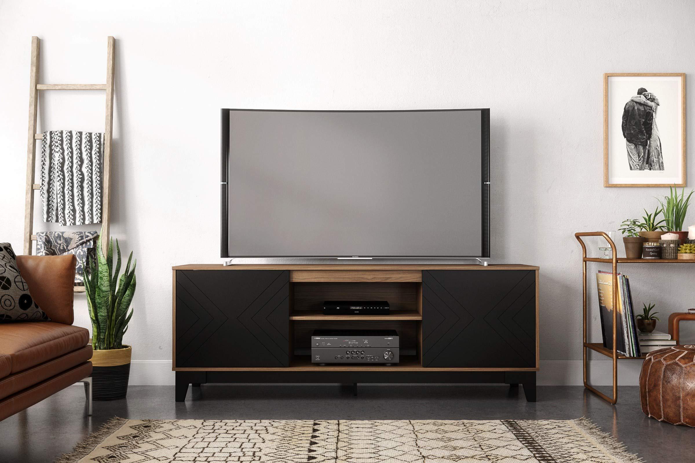 Nexera 402331 - Soporte de TV con Flecha, 182 cm, Nuez moscada y Negro: Amazon.es: Juguetes y juegos