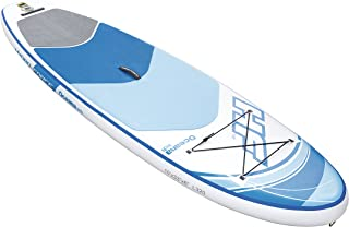 Bestway Hydro Force 10 Foot Inflatable SUP Paddle Board Package w/Pump