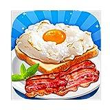 Make Cloud Egg, Bacon & Milk - Breakfast Maker Education Game