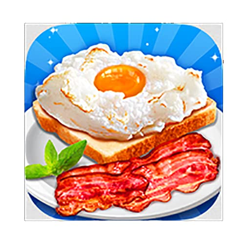 Make Cloud Egg, Bacon & Milk - Breakfast Maker Education Game
