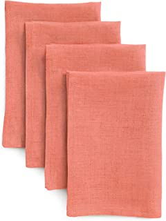 Best coral colored linen napkins Reviews