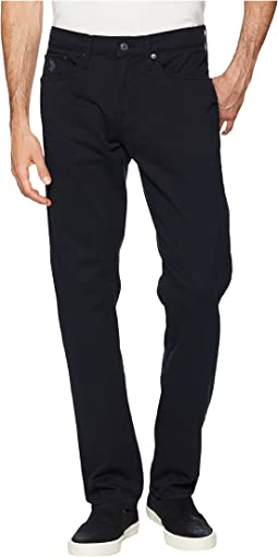 Slim Straight Stretch Five-Pocket Pants