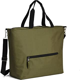 Earthwise Insulated Grocery Bag Extra Large with Zipper Closure for Groceries, Picnics Keeps Food Hot or Cold Removable Sh...