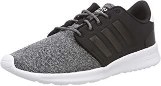 adidas Women's CF QT Racer Shoes, Core Black/Core Black/Core Black