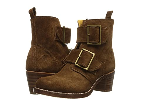 Double Black Oiled Oiled Oiled Suede Polished SuedeWood Sabrina Frye Smooth Buckle SuedeFatigue VegCharcoal 1qFFw5