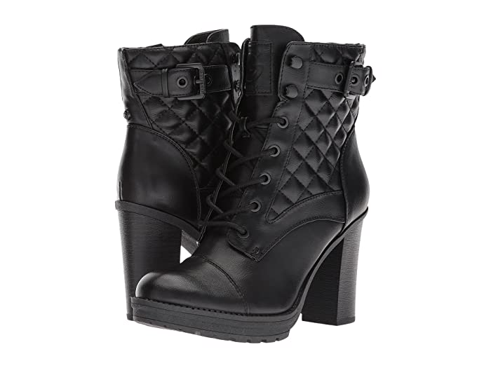 GBG Los Angeles  Gift (Black) Womens Dress Lace-up Boots