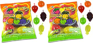 Din Don Fruity's JU-C Jelly Fruit Snacks Pack of 2