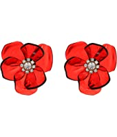 Kate Spade New York - Slice of Stone Flower Studs Earrings