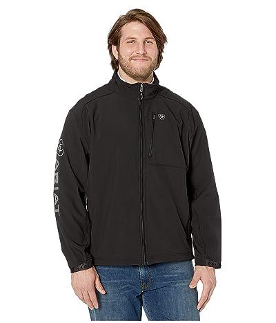 Ariat Big Tall Logo 2.0 Softshell Jacket (Black) Men