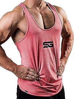 comprar comparacion Satire Gym Camiseta Stringer para Hombre - Ropa Deportiva Funcional - Adecuada para Workout, Entrenamiento - Camiseta de T...