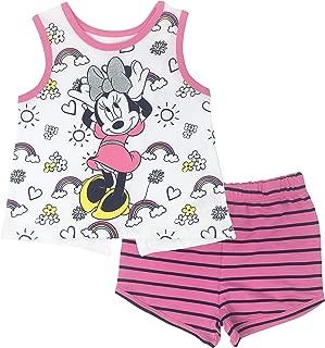 Minnie Mouse Girls' Tank Top & Shorts Set