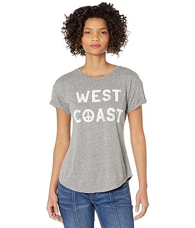 The Original Retro Brand West Coast Rolled Short Sleeve Slub Tee