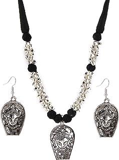 2e8c1949507a9 Amazon.in: Oxidised Silver - Jewellery Sets / Women: Jewellery