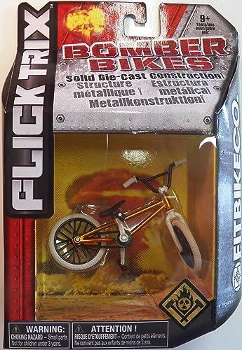 Felices compras Flick Trix Die-cast Bomber Bomber Bomber Bikes - Fit Bike Co. (naranja, negro, blanco)  servicio honesto