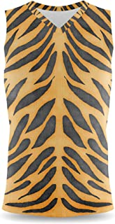 Rainbow Rules Tiger Print Mens Sleeveless Tank Top