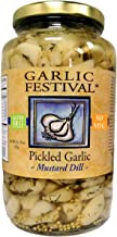 Garlic Festival Foods Mustard Dill Pickled Garlic Quart (32 oz.)