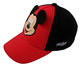 Disney Toddler Boys Mickey Mouse Character Baseball Cap