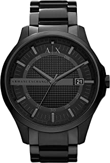 Armani Exchange AX Men's Stainless Steel Quartz Dress Watch