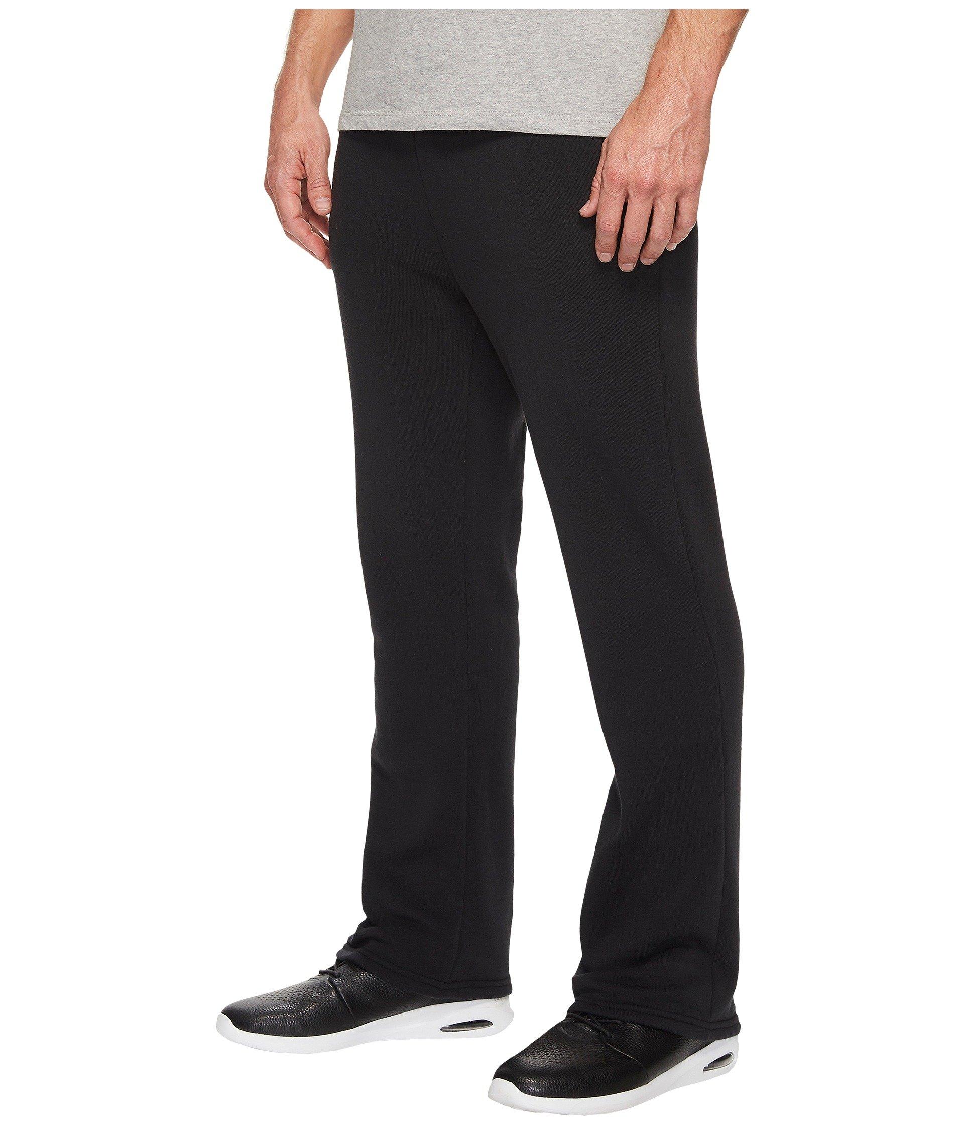Bottom True Alternative Open Black Fleece Sweatpants Eco Hustle The B6qqXgwSa
